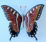 Flexible and with High Hardness Fashion Butterfly Metal Craft