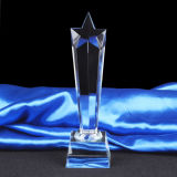 Star Crystal Trophy Award for Souvenir Gift