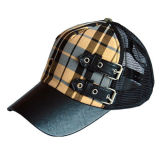 Truck Cap with Leather Visor (JRT004)