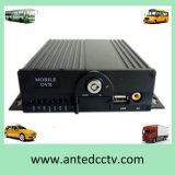 4CH Car Bus Mobile DVR Support GPS WiFi SD Card