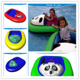Inflatable Bumper Boat Powered for 1-2 Kids with FRP Body