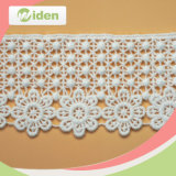 Latest Lace Trimming Water Soluble Embroidery Bridal Guipure Lace Wholesale
