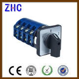 0-1-2-3 4 Position 220V Industrial Universal Panel Selector Changover Cam Rotary Switch