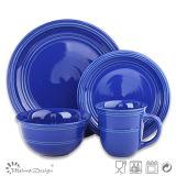 Royal Blue Ceramic Dinner Set