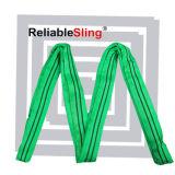 5t 4m Green High Quality Nylon Round Slings Factory