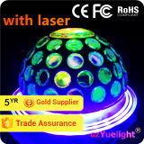 Yuelight Wholesale Rgbwp LED Cosmos Party Night Light with Laser LED Light Disco Ball