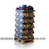 Double Sides Point of Purchase Display Dumpbins, Cardboard Trays Display for Clothes