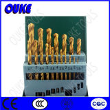 1.5-6.5mm Straight Shank HSS Titanium Twist Drill Bit Set
