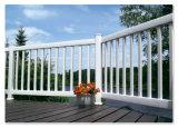 PVC TiO2 Vinyl Fence Rail Fence/Garden Fence