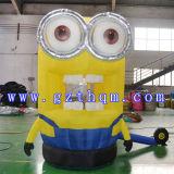 Yellow Inflatable Grasp Money Machine Model