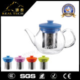 Hot Selling Glass Teapot Removable Stainless Steel Filter