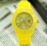 Wholesale Colorful Silicone Jelly Watch with Custom Design
