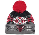Fashionable Cool Winter Beanie Hat with Rubber Label