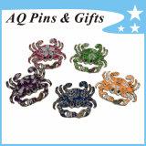 Hot Selling Crab Series Metal Lapel Pin Badge (badge-111)