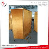 Golden Fabric Foldable Restaurant Dining Partition (SP-2)