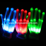 Dance Show Colorful LED Lighting Flashing Gloves