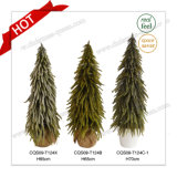 28 Inch Plastic Christmas Decoration Supplies Craft Christmas Trees