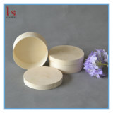Cheap Round Customized OEM Soft Wooden Simple Bark Case