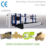 Zj800ts Automatic Label/Cardboard/Paperboard/Corrugated Paper Flat Bed Die Cutter Manufacturer