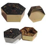 Drawer Hexagonal Shape Cardboard Paper Gift Packaging Box with Silk