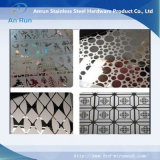Etching Decorative Pattern Stainless Steel Wall Plate