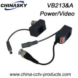 1CH Surveillance Video Balun with Power for CCTV (VB213&A)