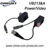 1CH Surveillance Video Balun with Power for CCTV (VB213&A)