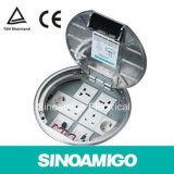 Access Floor Power Outlet Round Floor Box