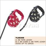 Paw Print Retractable Dog Leash (YL68368)