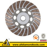 Turbo Diamond Grinding Cup Wheels for Concrete Floor