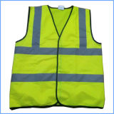 High Visibility Reflective Safety Vest for Road Maintenance Workers