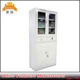 2014 ISO Certificated High Quality Glass Door Cabinet with Drawer
