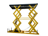 CE certificated Low Price Auto Hydraulic Scissor car lift table for parking