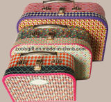 Wholesale Paper Suitcase Boxes Set with Handle
