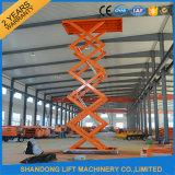 2017 New Design Hydraulic Electric Warehouse Cargo Scissor Lift Table