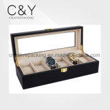 Hot Sale Wooden Black Watch Box