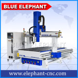 1325 4X8FT 4 Axis 3D Wood Cutting CNC Milling Router Engraver Machine Automatic Tool Changer for Woodworking Business