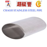 SUS 204, 304, Oval Welded Stainless Steel Tube