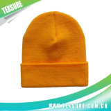 Solid Color Customized Cuffed Knitted Winter Sport Hats (033)