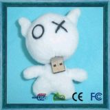 Lovely Cartoon Plush Doll USB Flash Drive Gifts Series