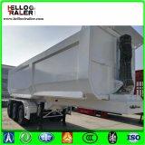 3 Axle U Shape 80 Ton Front Lift Dump Truck Semi Trailer
