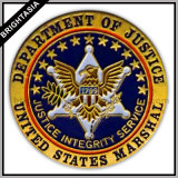 Department of Justice Offical Metal Lapel Pin ((BYH-100P09)