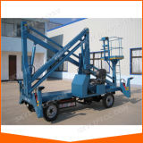 Good Quality Trailer Mounted Cherry Picker Boom Lift for Sale