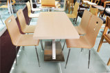 4 Person Rectangle Restaurant Furntiure Table (FOH-CXSC64)