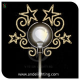 Star Motif LED Pole Decoration Light for Christmas