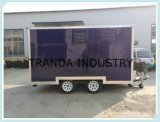 Overseas Catering Kiosk with Logo Catering Booth Petrol Vending Cart