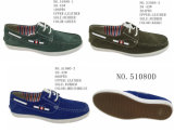 No. 51080 Men′s Casual Shoes Leather Shoes Slip on