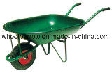 Hot Sale Plastic Tray Wheelbarrow (WB9200)