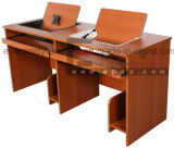 Wooden Turnover Computer Table-Student Computer Table Room