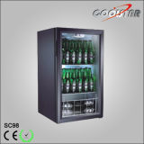 Hot Sale Countertop Portable Soft Drink Refrigerator (SC-98)